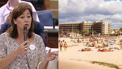 """Armengol acusa al Gobierno central de """"huir"""" del Consorcio de la Playa de Palma"""