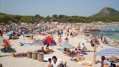 La llegada de turistas sube un 11,5 por ciento en Balears hasta abril, con 1,6 millones