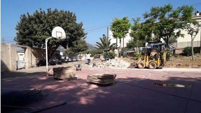 Comienzan las obras en las instalaciones deportivas de Sant Elm