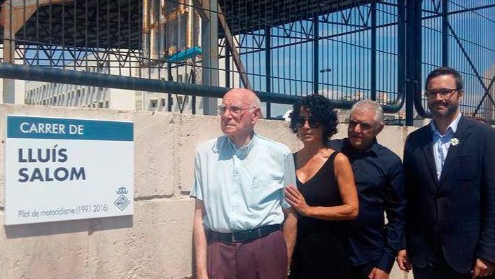 Palma homenajea a Luis Salom dedicándole una calle