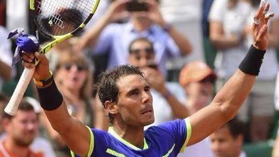 Nadal arrolla a Bautista y ya está en cuartos de Roland Garros