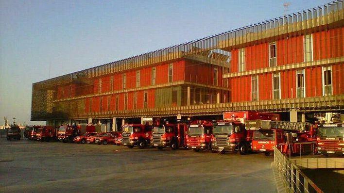 El parque de los bomberos de Palma se halla bajo mínimos.