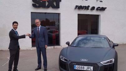 El nuevo Audi R8 Coupé, en exclusiva para la flota premium de Sixt