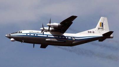 Recuperan 10 cadáveres del avión militar siniestrado en Myanmar