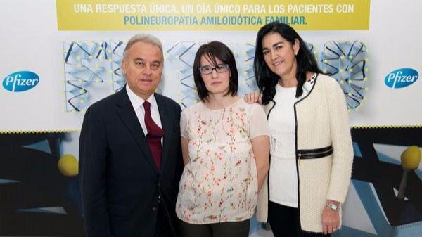 Imagen de archivo de los doctores Juan Buades, Lucía Galán e Isabel Fernández