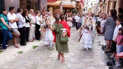 Alternativa Per Pollença reclama la sustitución del cordero vivo por una réplica en la procesión del Corpus