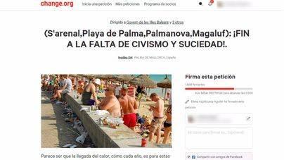 Recogen firmas en change.org para acabar con el incivismo del turismo de borrachera