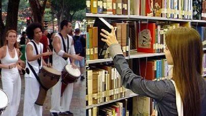 El zumba y la batucada invaden el silencio de la biblioteca de Marratxí