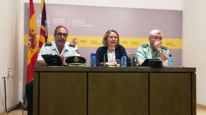 Delegación del Gobierno garantiza el aumento de un 36,7% en los refuerzos policiales para el verano