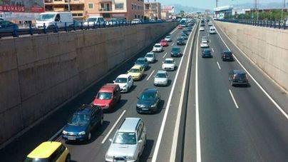 Las emisiones del tráfico y los aires acondicionados disparan los niveles de ozono malo en Balears