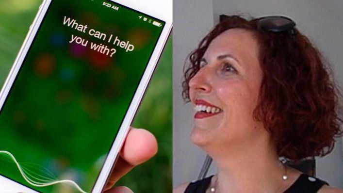 Siri, la voz del asistente personal de iPhone, es vasca