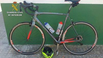 Imagen de la bicicleta sustraída