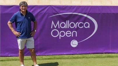 Toni Nadal en las instalaciones del Mallorca Open