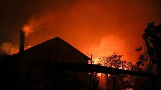 El fuego se encuentra, a unos 200 kilómetros de la capital, Lisboa