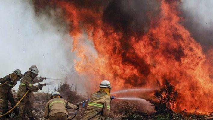 El fuego ya ha devorado 26.000 hectáreas en Portugal