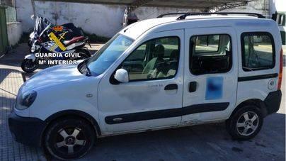 Detenidos tras robar en el polígon de Marratxí y Santa Ponça, tirar a un motorista y darse a la fuga