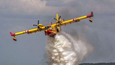 Desmienten que se haya estrellado un avión en el incendio de Portugal