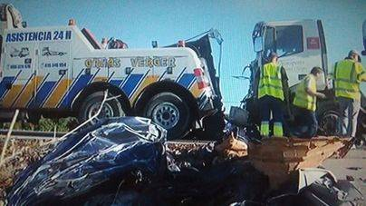 Un fallecido en un accidente en la carretera Artà-Son Serra de Marina
