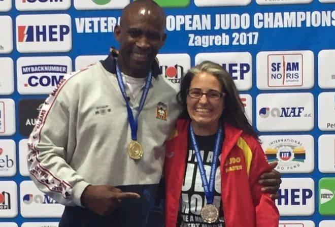 El judo mallorquín cosecha un oro y una plata en el Campeonato de Europa Máster