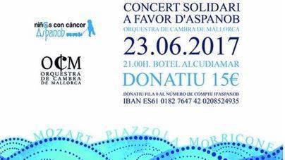 Alcudiamar acoge un concierto solidario a favor de ASPANOB
