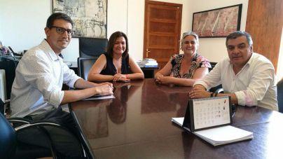 Andratx y Consell perfilan una rotonda para el acceso a Camp de Mar