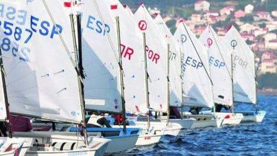 Nueve regatistas de S'Arenal, en el campeonato de España de Optimist