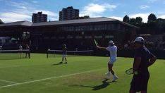 Nadal se entrena ya en Wimbledon y disputará la exhibición de Hurlingham