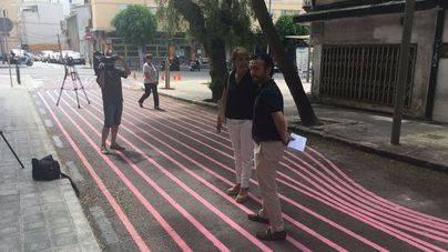 El PP exige a Cort que consensúe con los vecinos los cambios como las líneas rosas de la calle Borguny