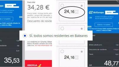 El precio final de los interislas se sitúa entre los 24 y los 48 euros, según temporada