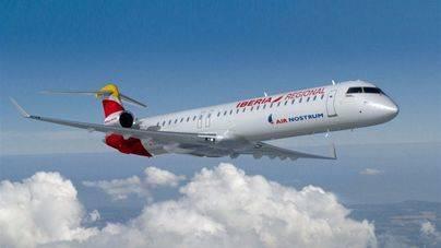 Air Nostrum lanza una tarifa promocional de nueve euros por trayecto para volar entres las Balears