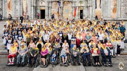 171 mallorquines peregrinan al Santuario de Lourdes