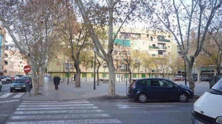 Plaza Fray Joan Alcina, en Son Gotleu (Palma)