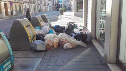 Denuncian graves fallos en el sistema de recogida de basuras