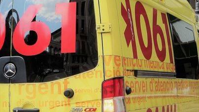 Cinco jóvenes resultan heridos en un accidente en la autopista de Inca
