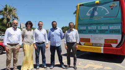 Campaña publicitaria para concienciar sobre el ahorro del agua a residentes y turistas