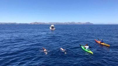 Martí Riera, el primero con lesión medular en cruzar el Canal de Menorca