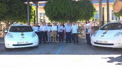Nissan Nigorra presenta los primeros taxis 100% eléctricos de Baleares