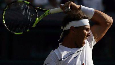 Nadal gana la segunda ronda de Wimbledon