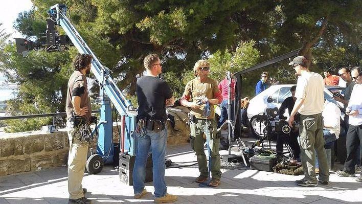 Uno de los rodajes en Palma de Mallorca