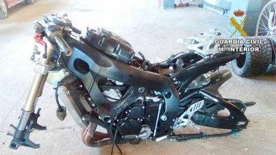 Detenido por fingir el robo de su moto tras circular a 226 kilómetros hora por la autopista de Llucmajor