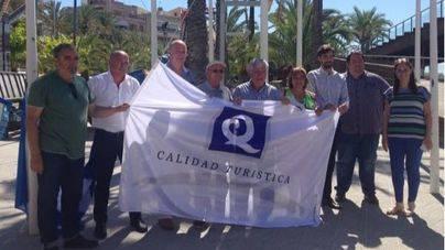 Alcudiamar izará este lunes las banderas Azul y 'Q' de calidad turística