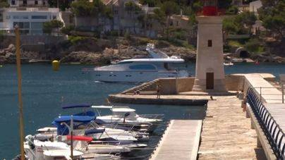 Investigan el origen del cadáver que ha aparecido flotando en aguas del Port d'Andratx