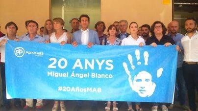 El PP balear recuerda a Miquel Ángel Blanco y el