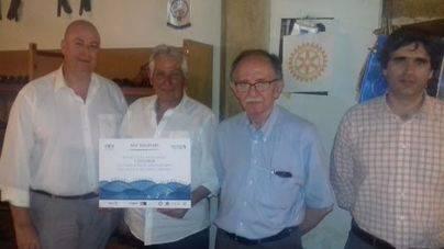 Rotary Club de Inca, Viva Hotels y Alcudiamar donan 3.120 euros a ASPANOB