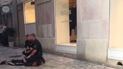 Un detenido en Palma por atracar a dos turistas con una pistola falsa