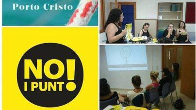 La campaña 'No i punt' llega a Porto Cristo y Santa Maria