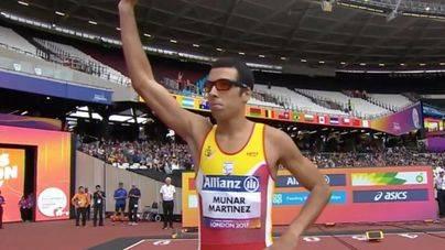 Joan Munar, bronce en los 100 metros en el Mundial de Atletismo Paralímpico