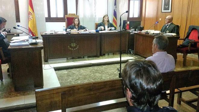 Imagen del juicio celebrado este lunes