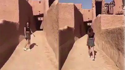 Liberada la mujer detenida en Arabia Saudí por ir en minifalda