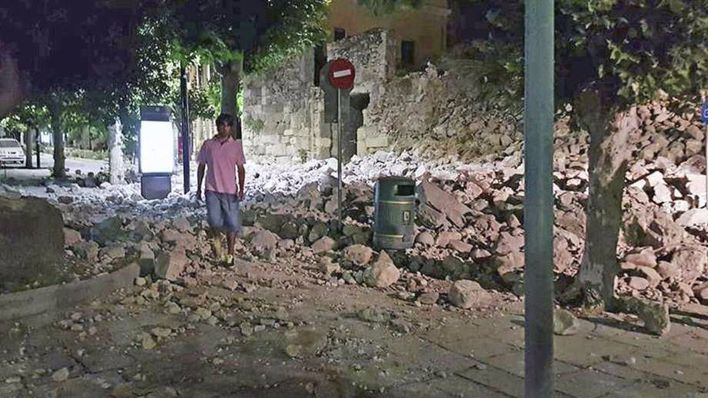 Dos muertos y numeroso heridos tras un terremoto en la isla griega de Kos